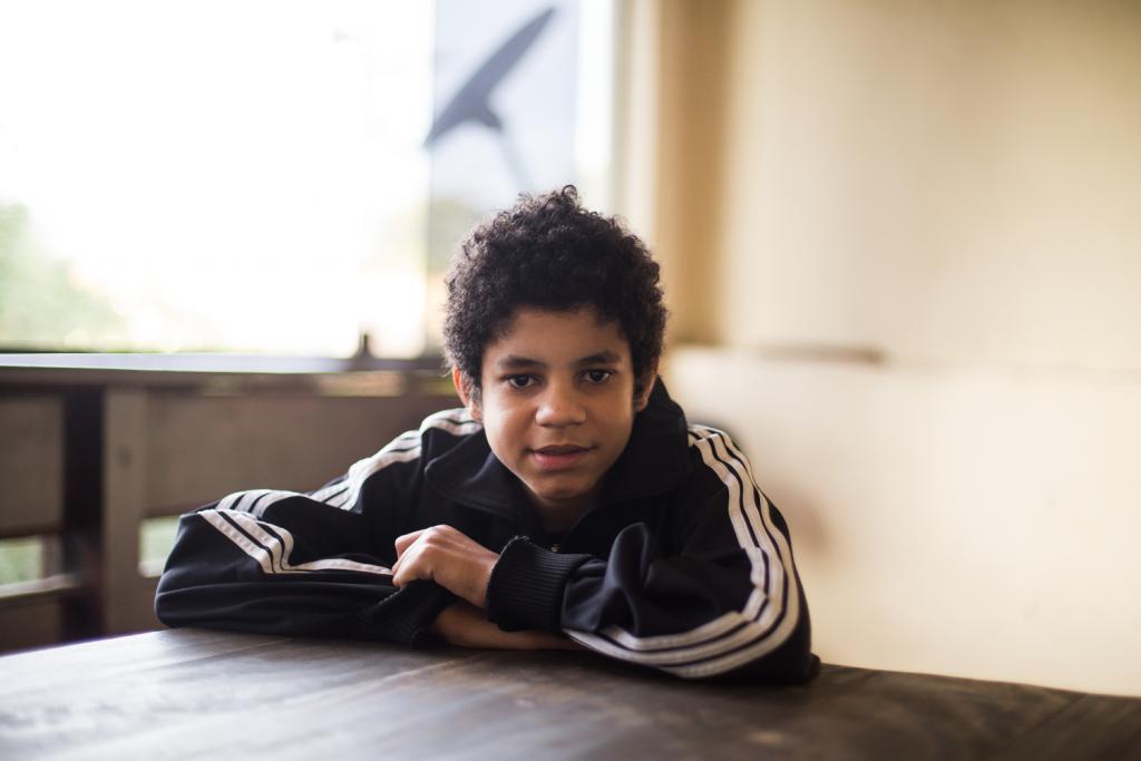 Gabriel, o primeiro filho de Alexya e Roberto.
